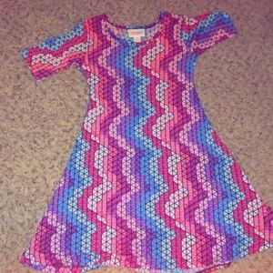 LulaRoe Kids Slinky dress!